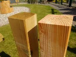 Holzpfosten / Zaunpfosten